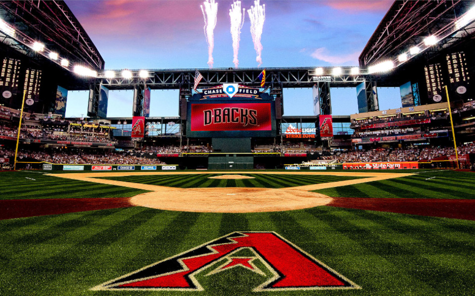 Chase Field Roof Open