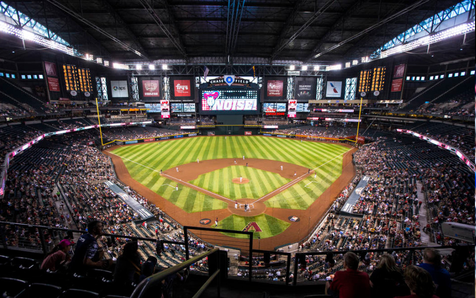 Chase Field panoramic view