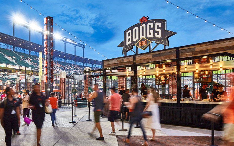 Oriole Park at Camden Yards Boog's