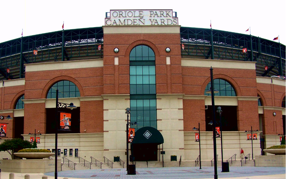 Oriole Park at Camden Yards exterior