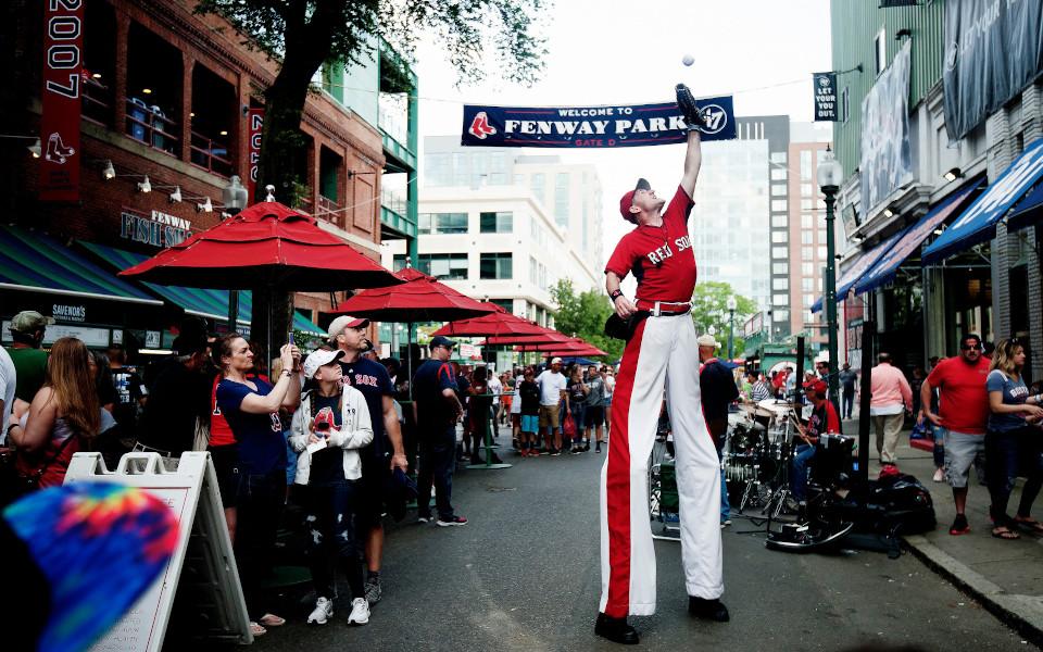 Fenway Park Jersey Way