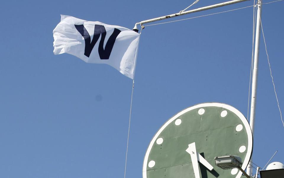 Wrigley Field W Flag