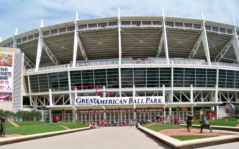 Great American Ballpark exterior