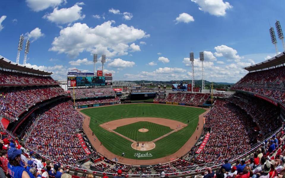 Great American Ballpark panoramic view