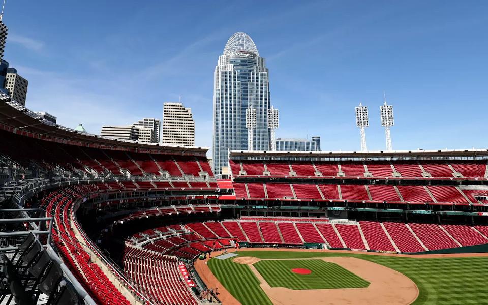 Great American Ballpark The Gap