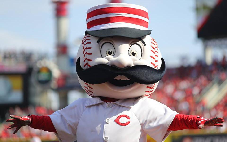 Great American Ballpark Mr Redlegs