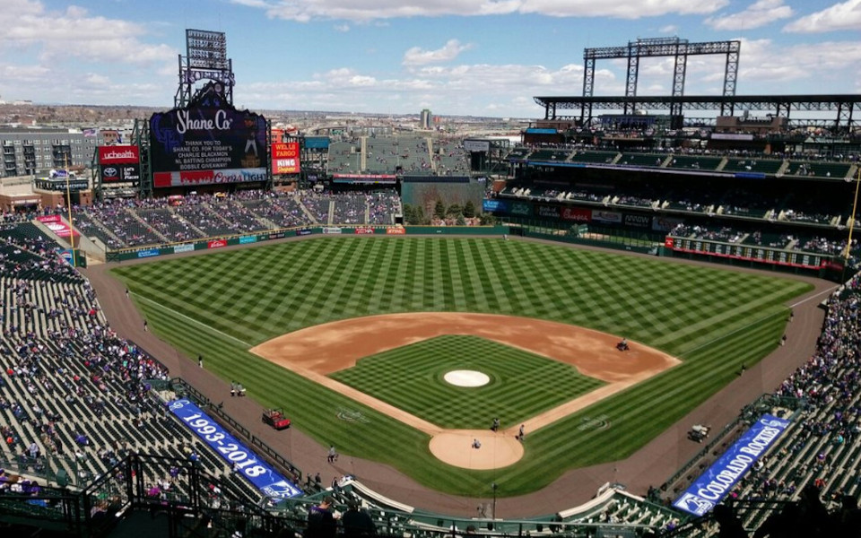 Coors Field panoramic view