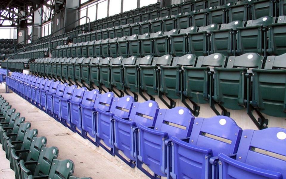 Coors Field purple seats