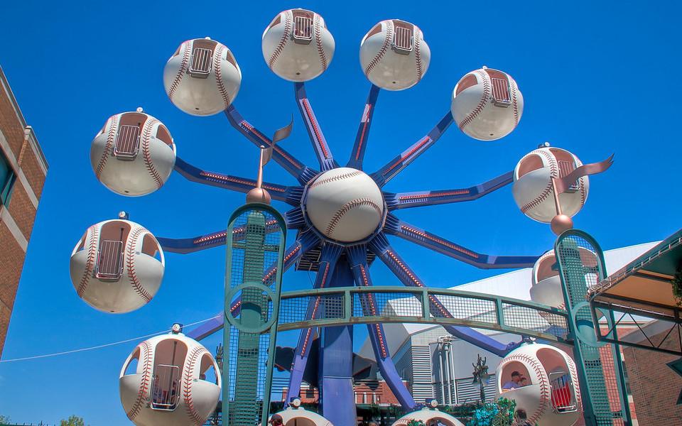 Comerica Park Ferris Wheel