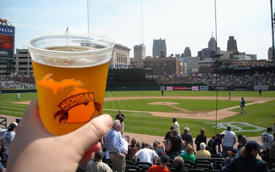 Comerica Park Michigan Craft Beer