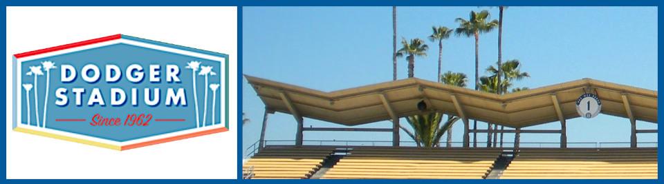 Dodger Stadium logo box