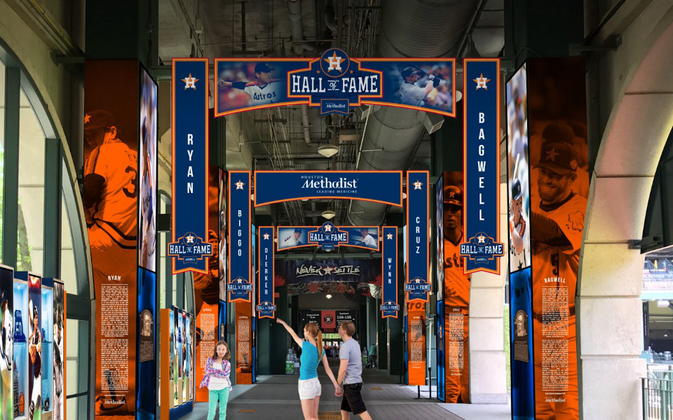 Minute Maid Park Hall of Fame