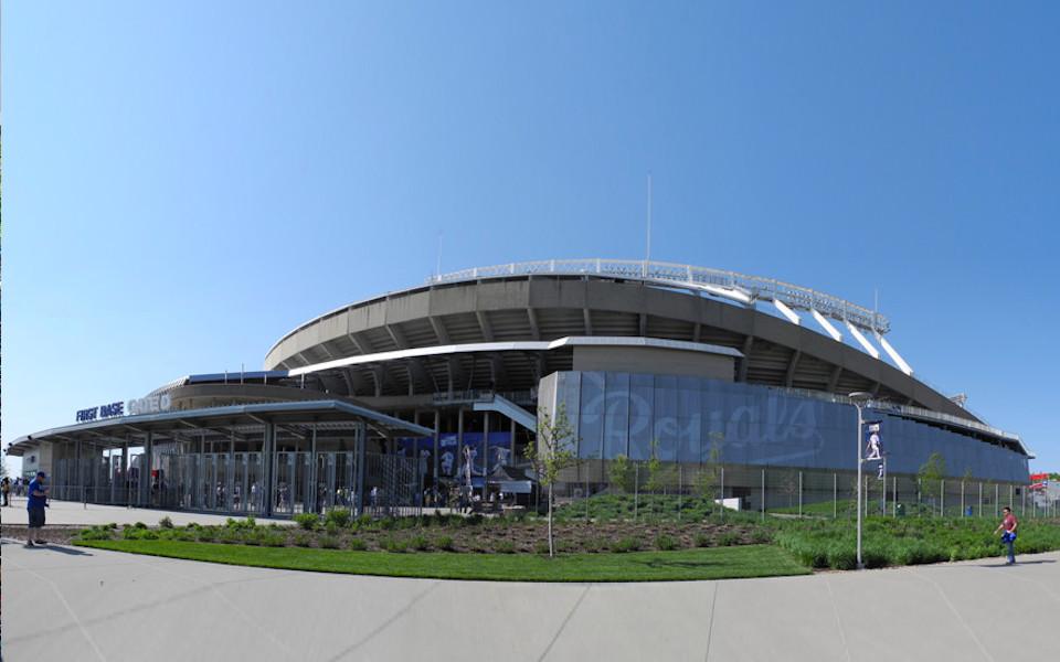 Kauffman Stadium exterior