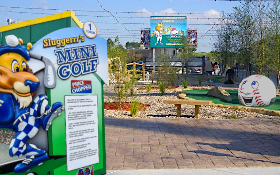 Kauffman Stadium mini Golf