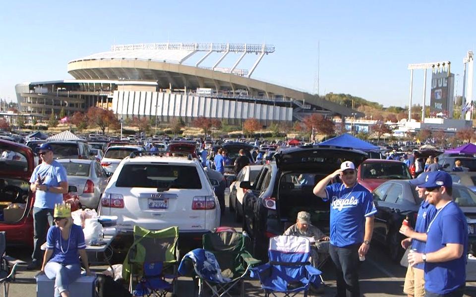 Kauffman Stadium tailgate
