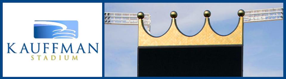 Kauffman Stadium logo box