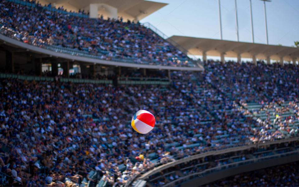Dodger Stadium -Beach Ball