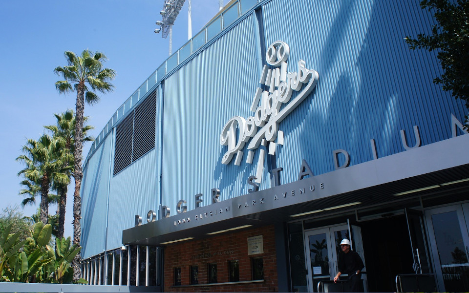 Dodger Stadium exterior