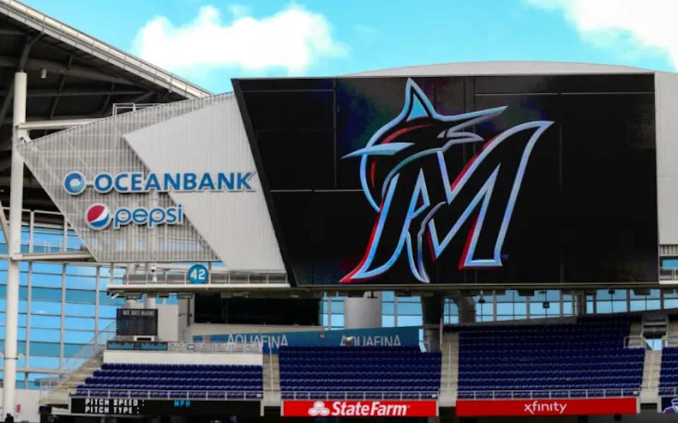 Marlins Park scoreboard