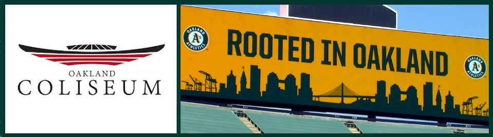 Oakland Coliseum logo box