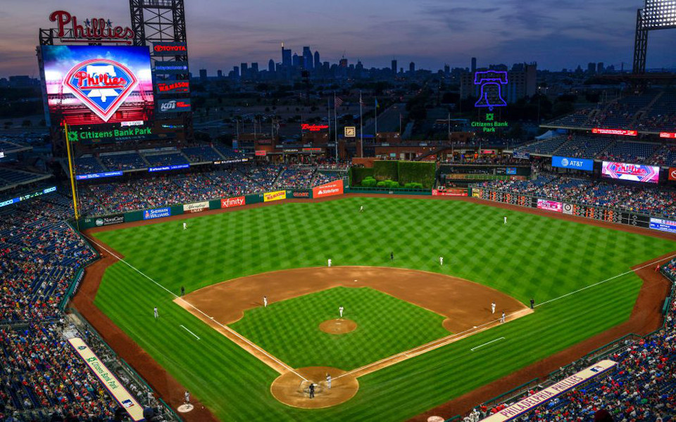 Citizens Bank Park panoramic view