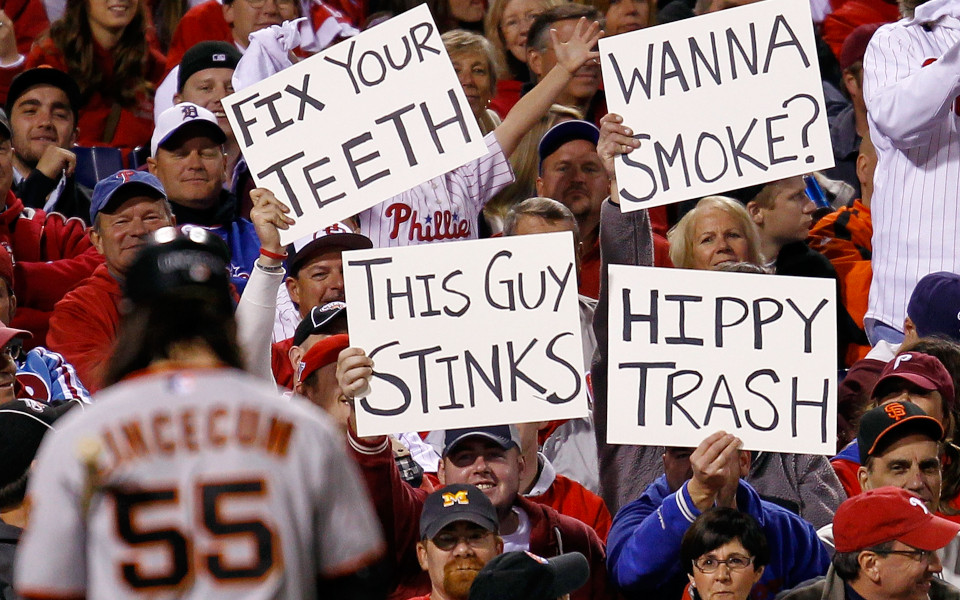 Citizens Bank Park Philly fans