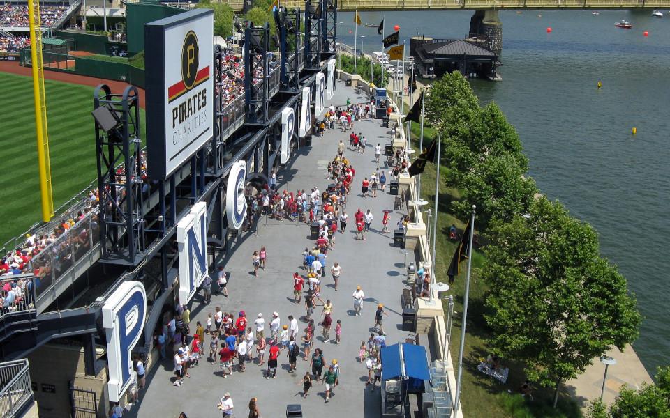 PNC Park Riverwalk