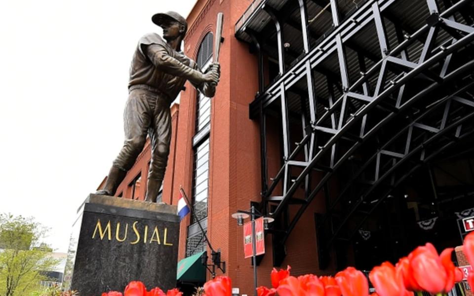 Busch Stadium Musial statue