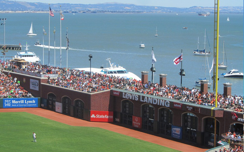 Oracle Park McCovey Cove