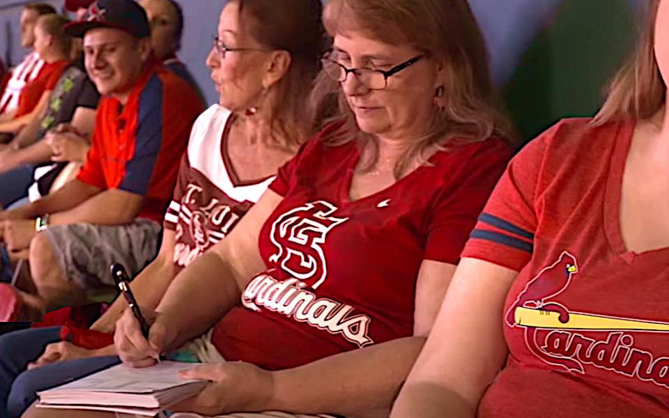 Busch Stadium Fans 1