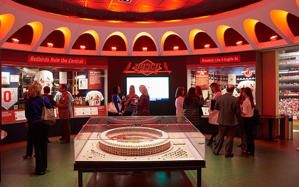 Busch Stadium Cardinals Hall of Fame