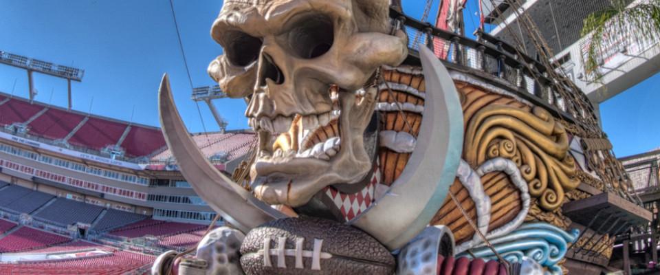 Tampa Bay Buccaneers Stadium Dude