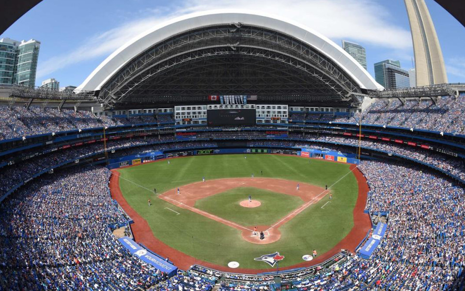 Rogers Centre panoramic view