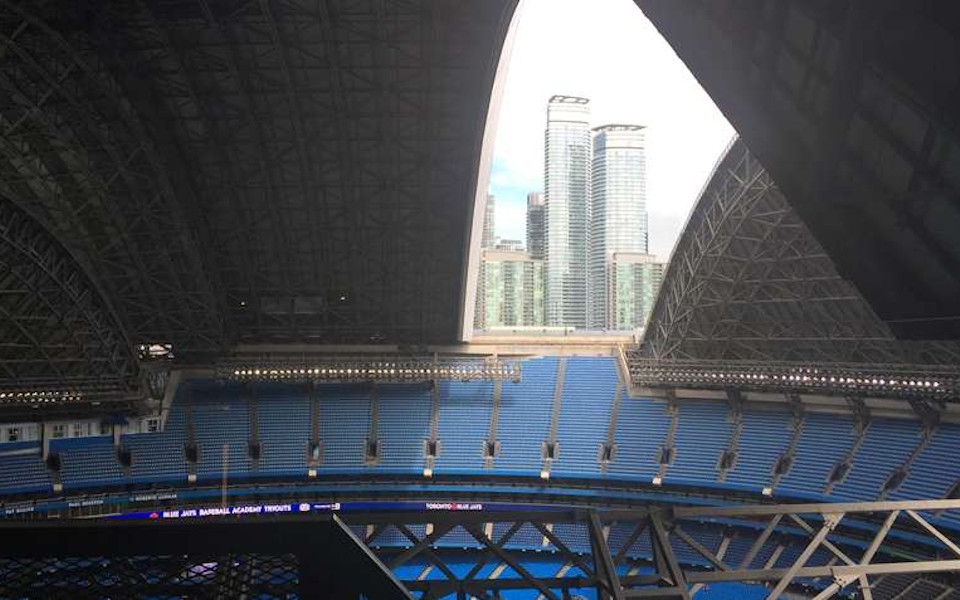 Rogers Centre retractable roof