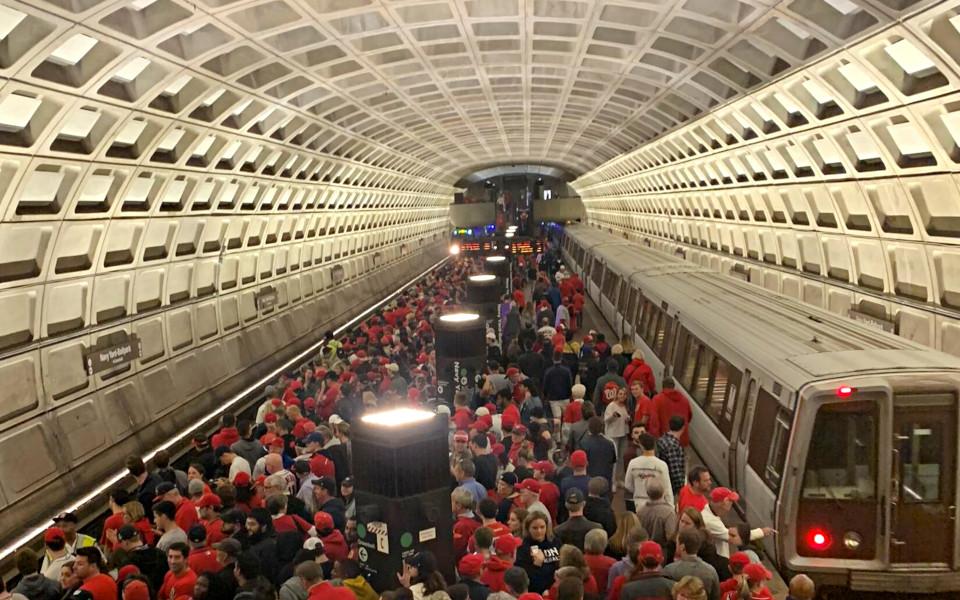Nationals Park Metro